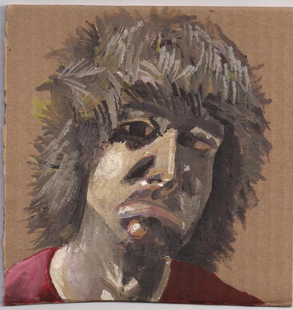 rough self portrait by xndrdmnky