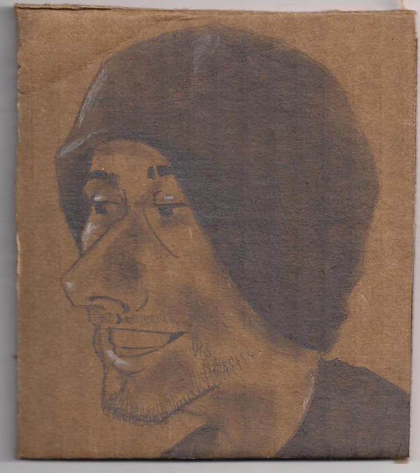 fun self portrait drawing by xndrdmnky