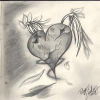 .:Broken Heart:. by DarkWolfFire