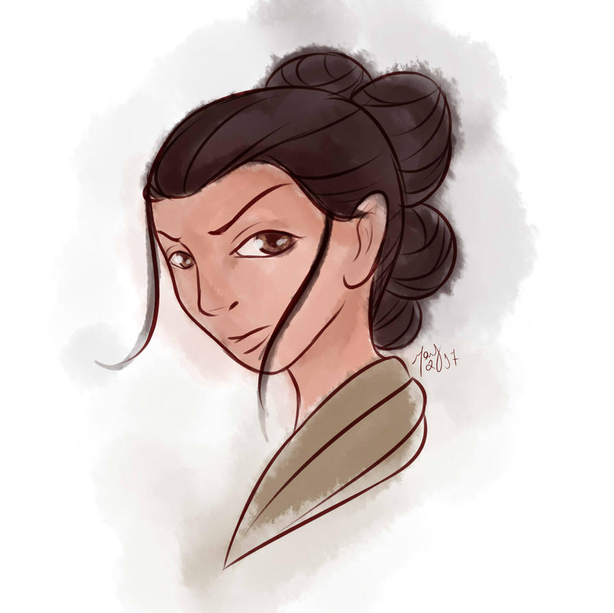[Fanart] Rey - Star Wars by maybarros