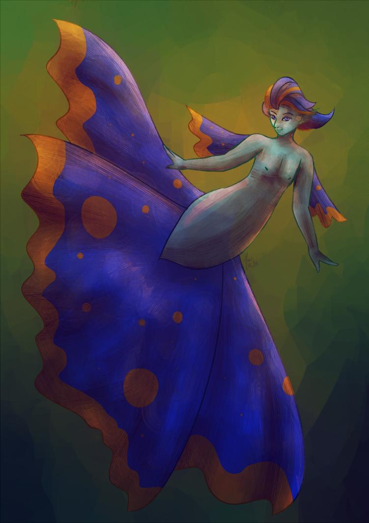 MerMay 2018 - Betta Fish Mermaid by maybarros