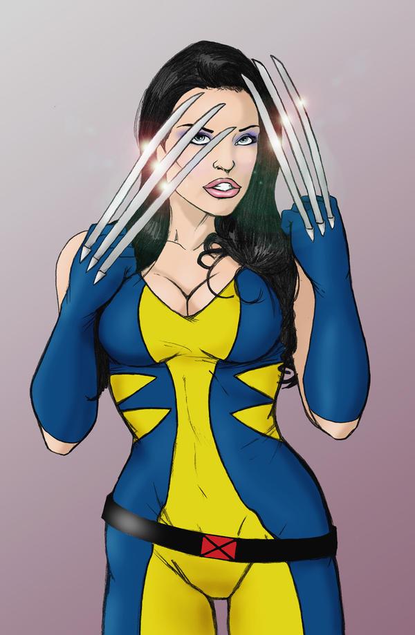 Aletta Ocean as Wolverine by wildpegasus13