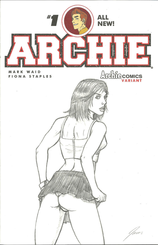 ArchieSketchCover-Veronica by wildpegasus13