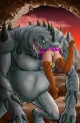 DungeonsDragons-Sheila Vs. Death Slaad
