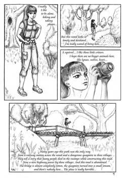 The Cursed Bridge page 01