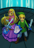 The Wind Waker: Final Battle by Carcoiatto