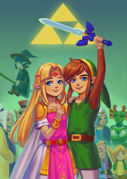 A Link Between Worlds: Hyrule is saved