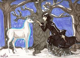 the silver doe by Agatha-Macpie