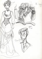 JSMN: character sketches 3