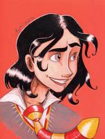 Portrait 8: Sirius by Agatha-Macpie