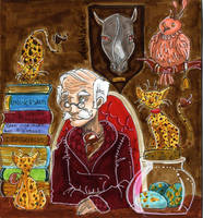 CF card: Newt Scamender by Agatha-Macpie