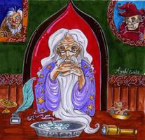 CF card: Albus Dumbledore by Agatha-Macpie