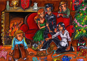 Merry Marauder christmas by Agatha-Macpie