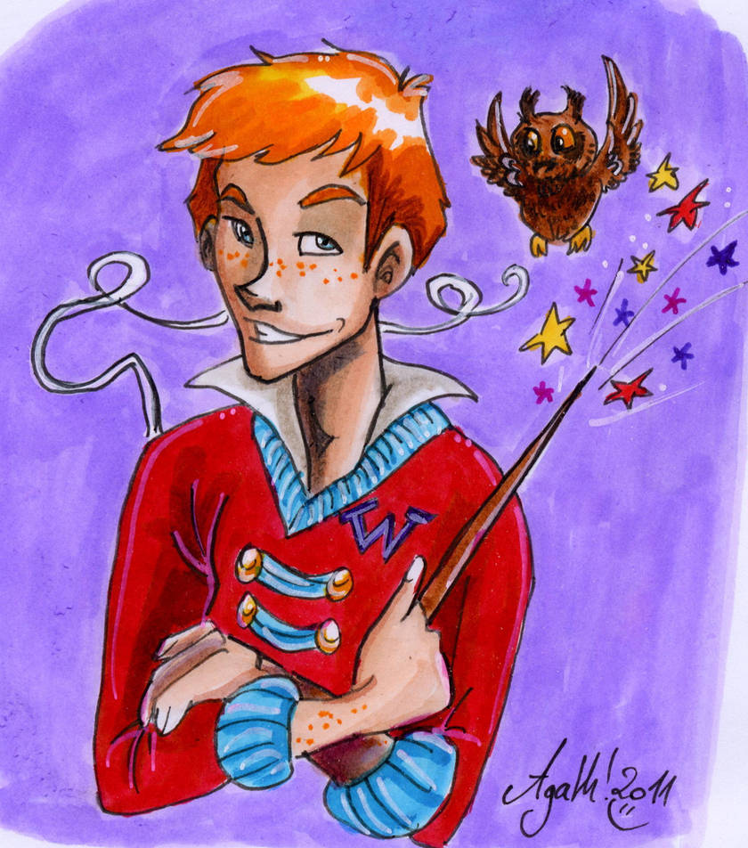 CF card: Ron Weasley by Agatha-Macpie