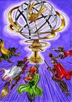 Quidditch World Cup by Agatha-Macpie
