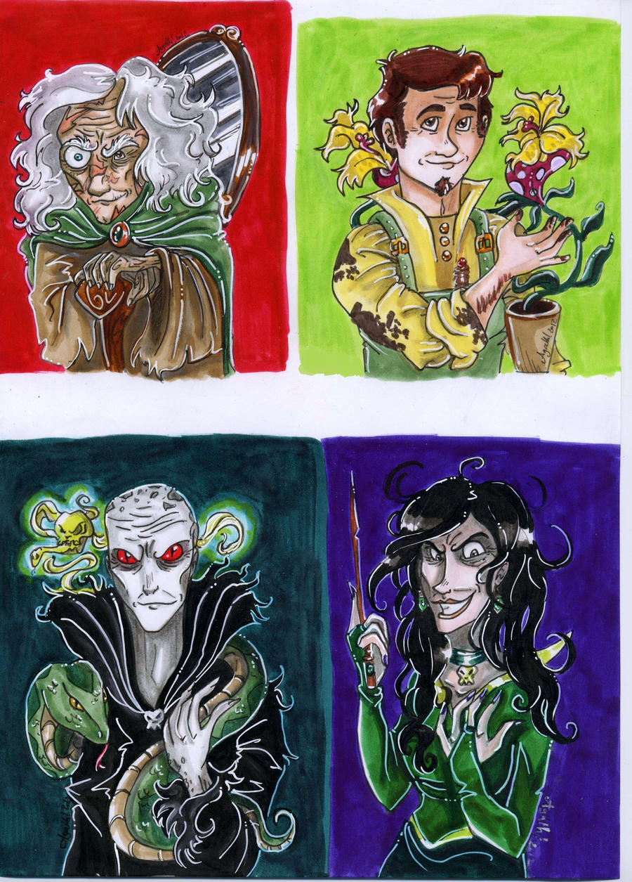 Chocolate frogs cards 3 by Agatha-Macpie on DeviantArt