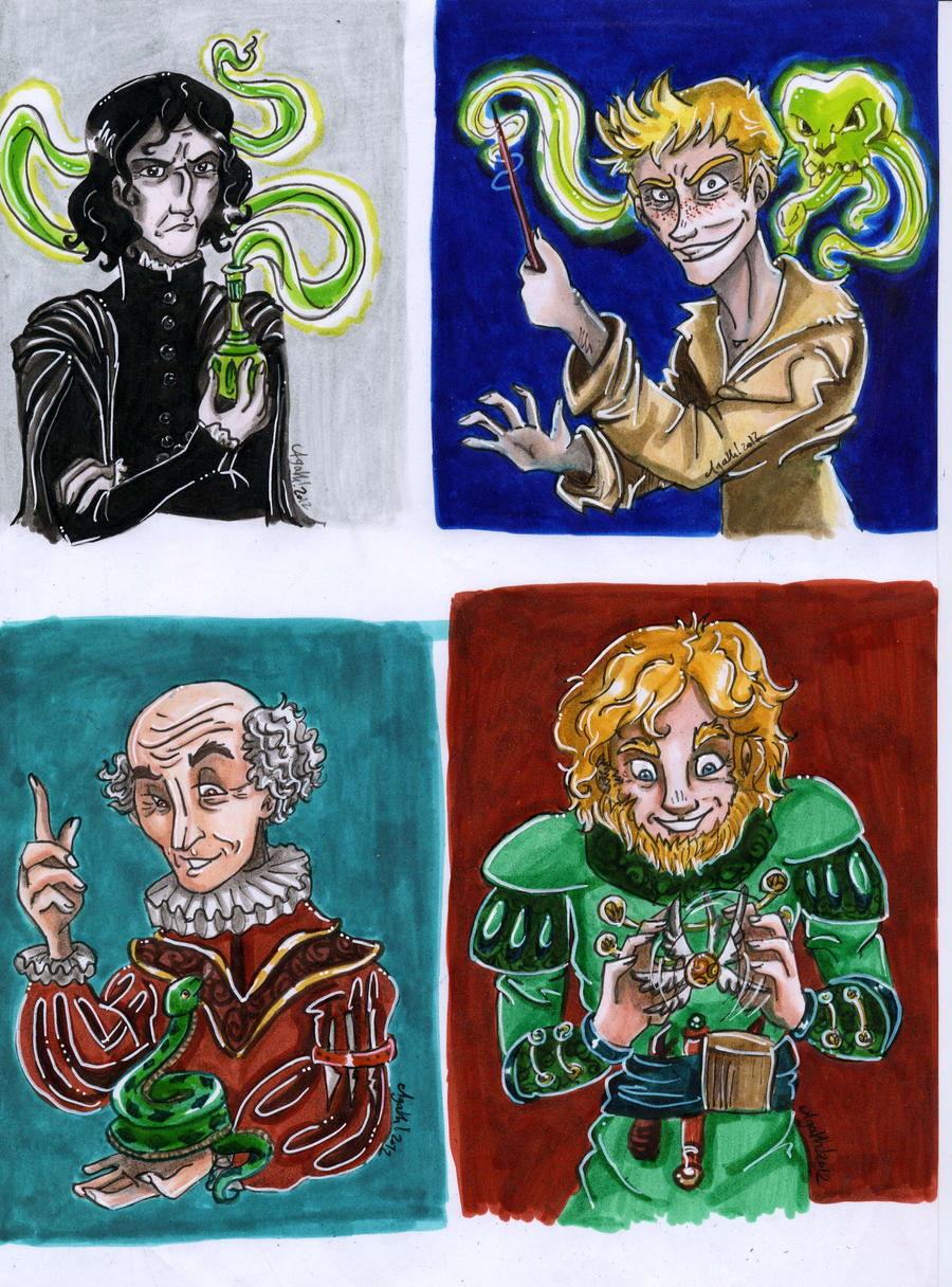 chocolate frogs cards 4 by Agatha-Macpie on DeviantArt