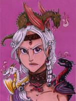 A dragon is no slave by Agatha-Macpie