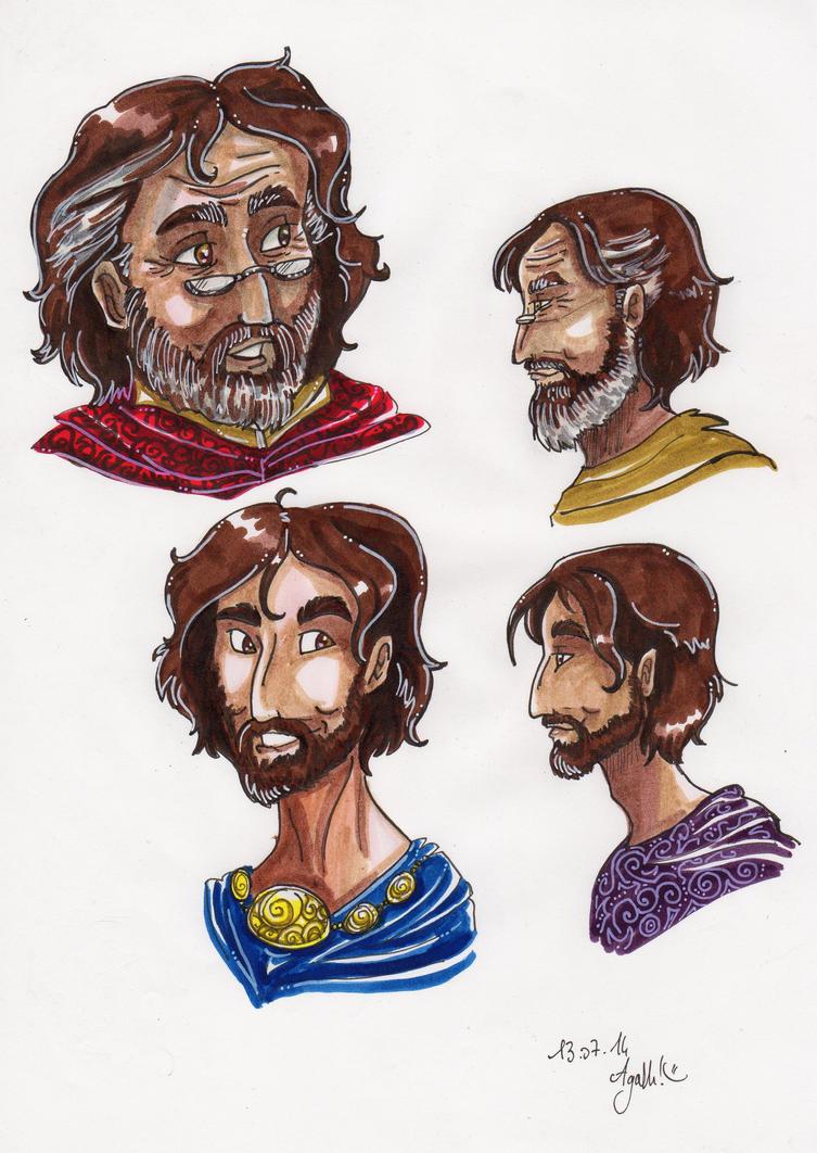 Character sheet: Eolas by Agatha-Macpie