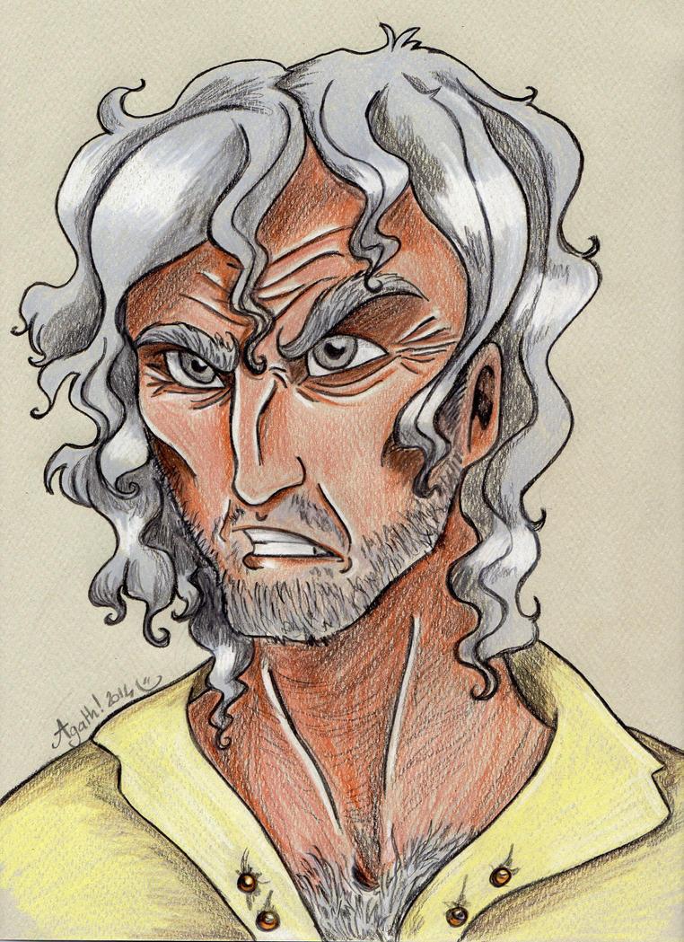 HG portrait: Haymitch by Agatha-Macpie