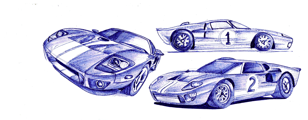 Ford Gt By M Bilel