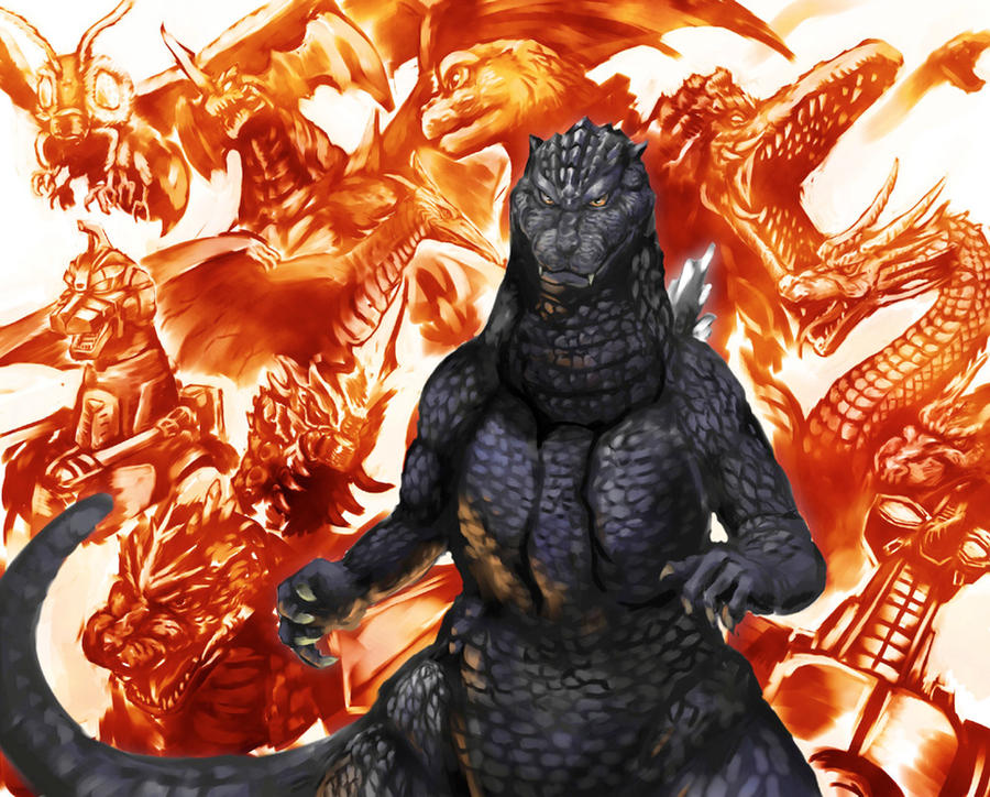Godzilla Memories by fcaiser