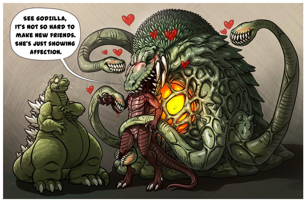 Godzilla Vs Mobzilla In Real Life Minecraft Godzilla Mobzilla