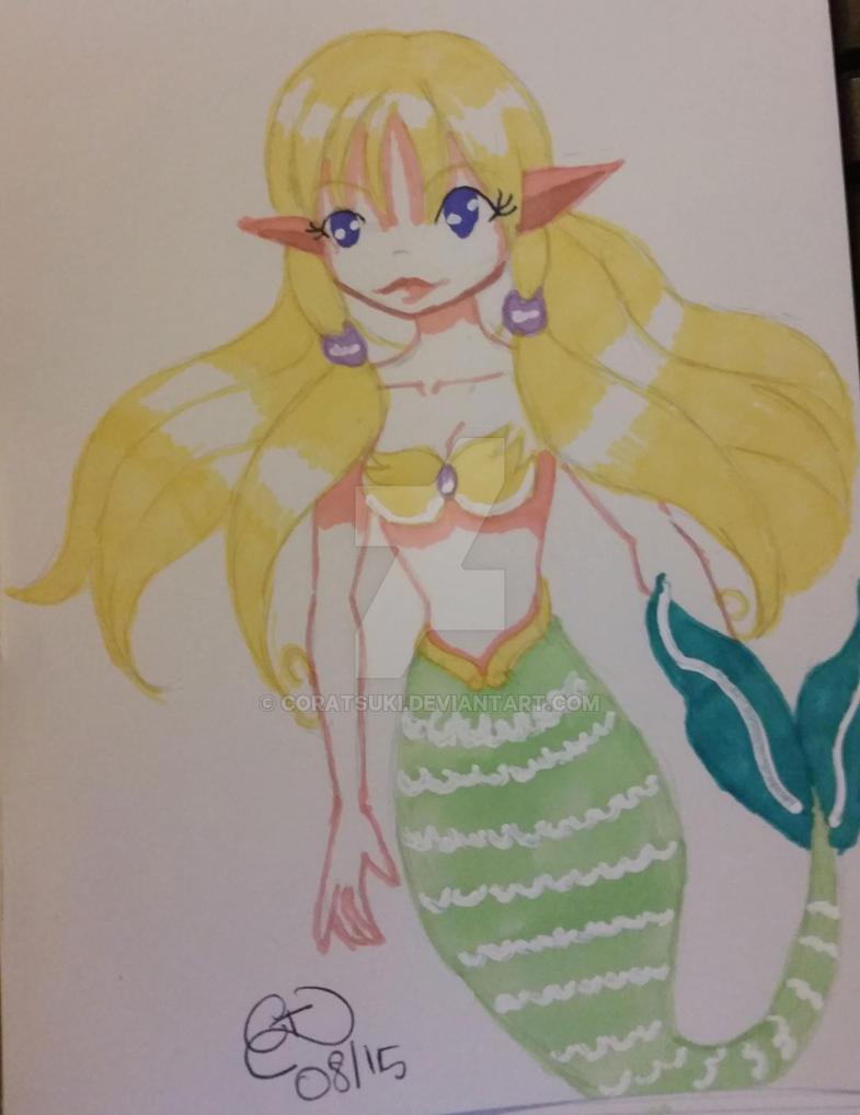 little mermaid by Coratsuki