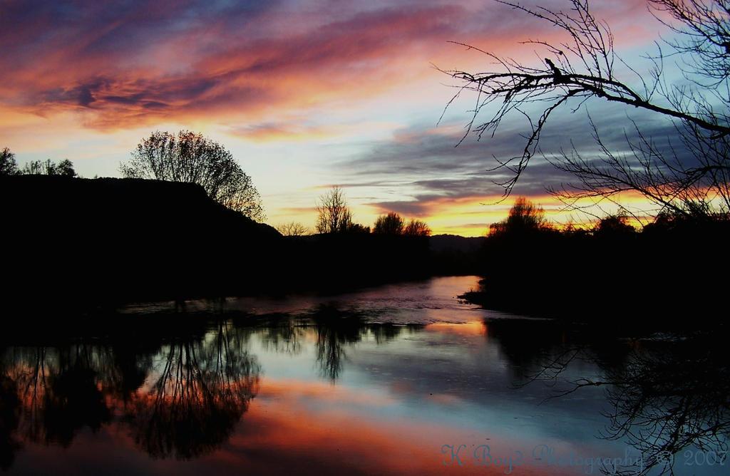Sunset at Beynac