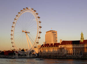 The London Eye and County Hall