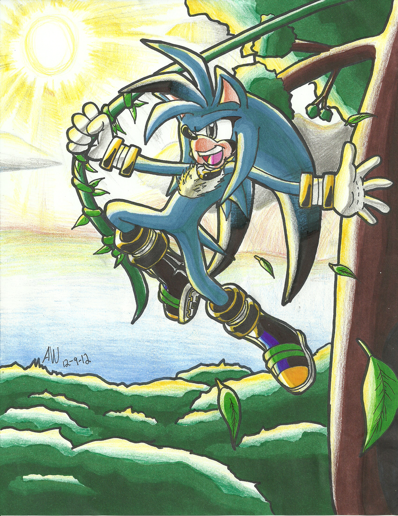 *GIFT*:  Ares the Hedgehog by Armpit-Warrior
