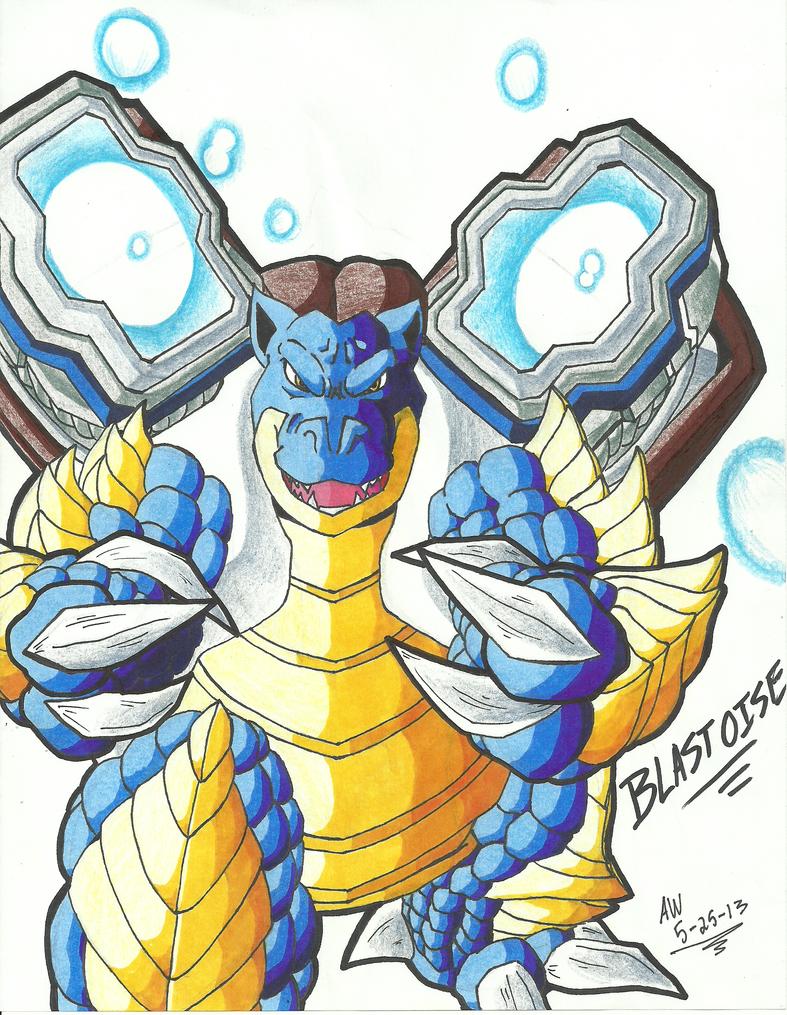 Blastoise charizard venusaur fusion