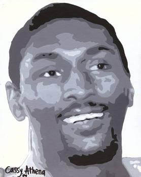 Lakers Ron Artest Portrait