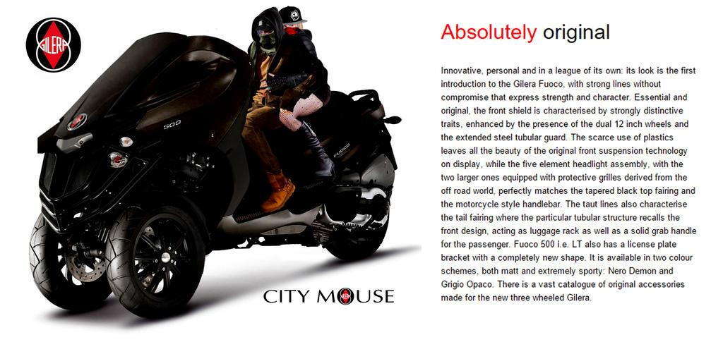 City Mouse - Gilera by mirukinousagi