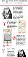 How to scan your artwork by victoriandeath