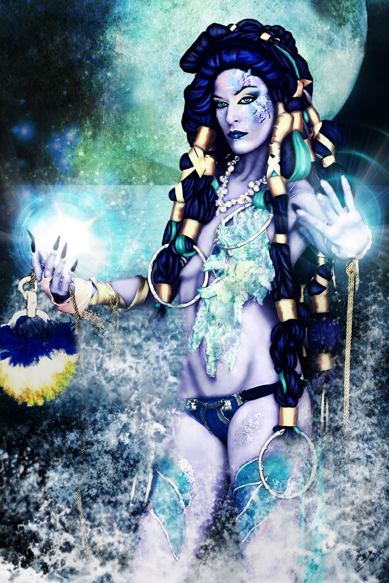 Shiva Final Fantasy X Cold as Ice Concept by liart66