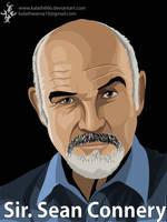 Sir sean Connery by kalath666