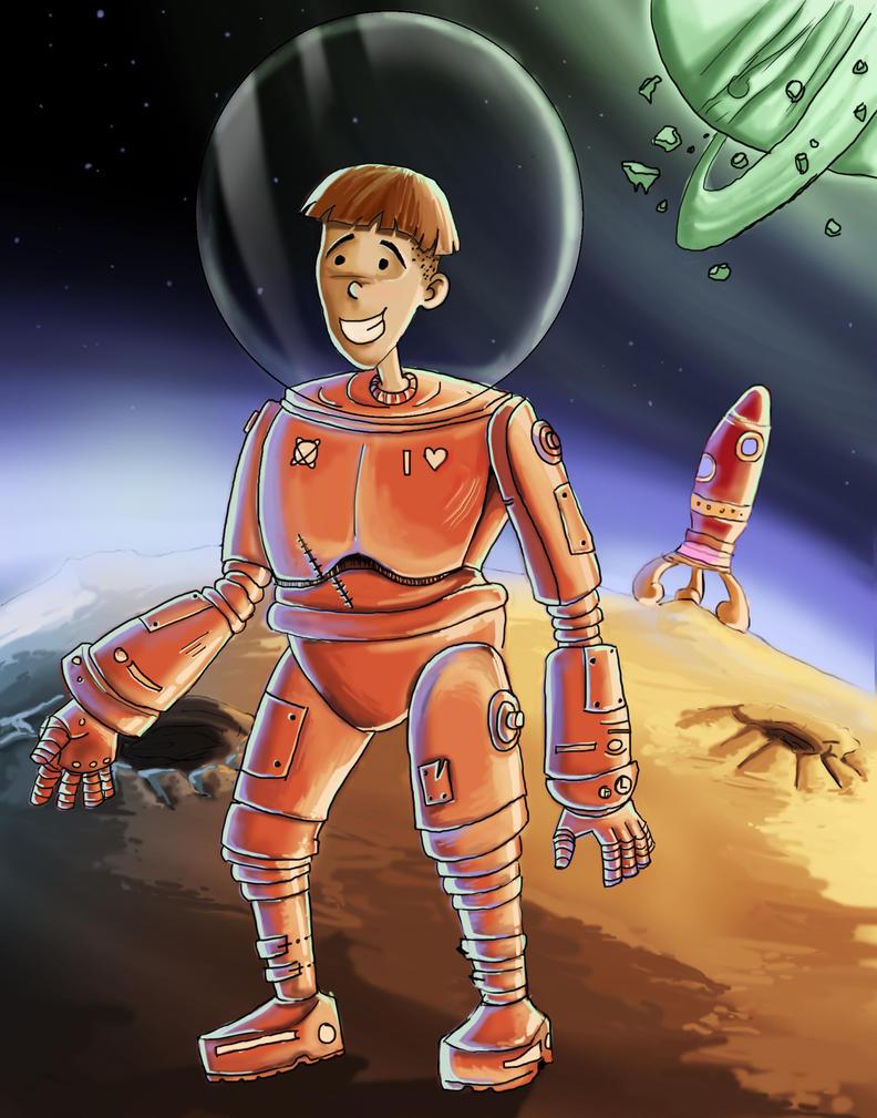 The Astronaut by kalath666