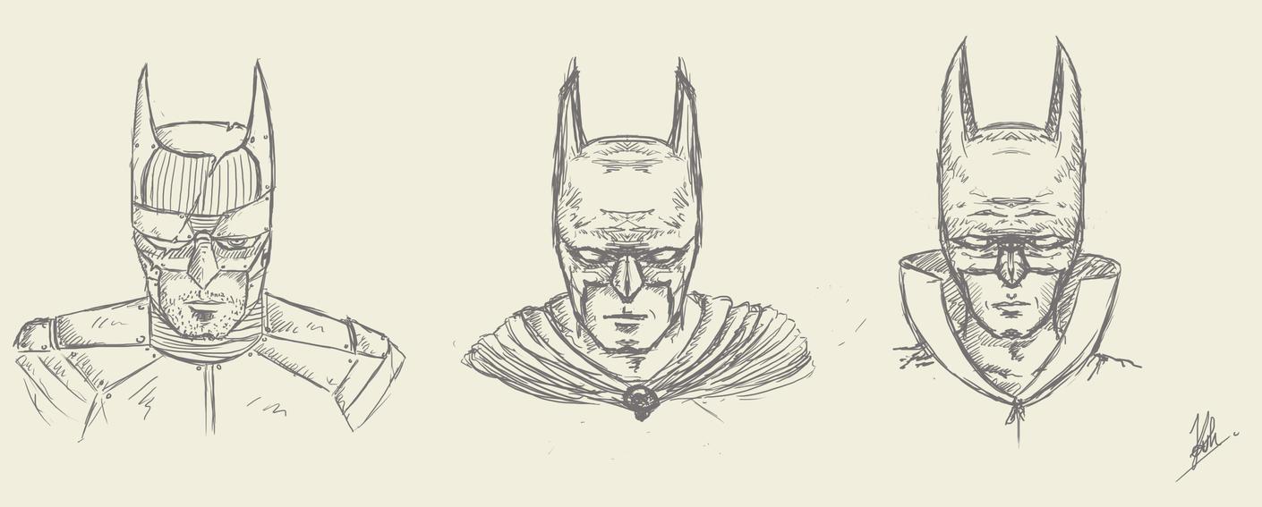 batman concept art by kalath666