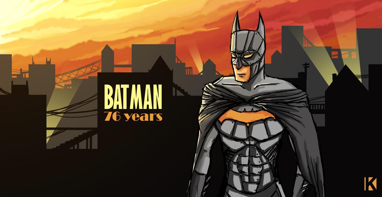 BATMAN - 76 Years by kalath666