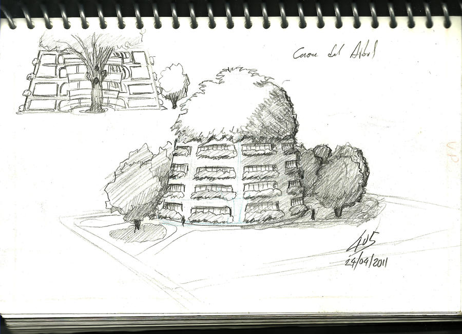 Casa en el Arbol by 4u5