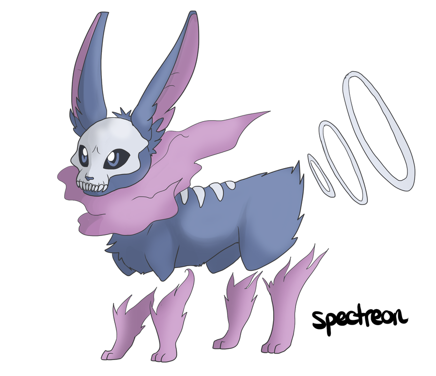Eeveeloution Ghost Type Spectreon By Galefaux On DeviantArt