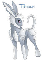 Eeveeloution: Steel-Type Titaneon by Galefaux