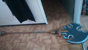 Savage lynel spear - work in progress