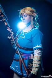 Hylian hero - Breath of the wild Link cosplay by Grenier-Illiane