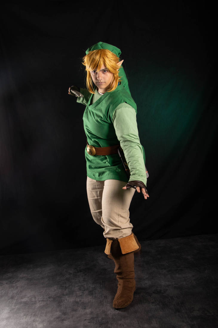Wind outfit - Breath of the Wild Link cosplay by Grenier-Illiane