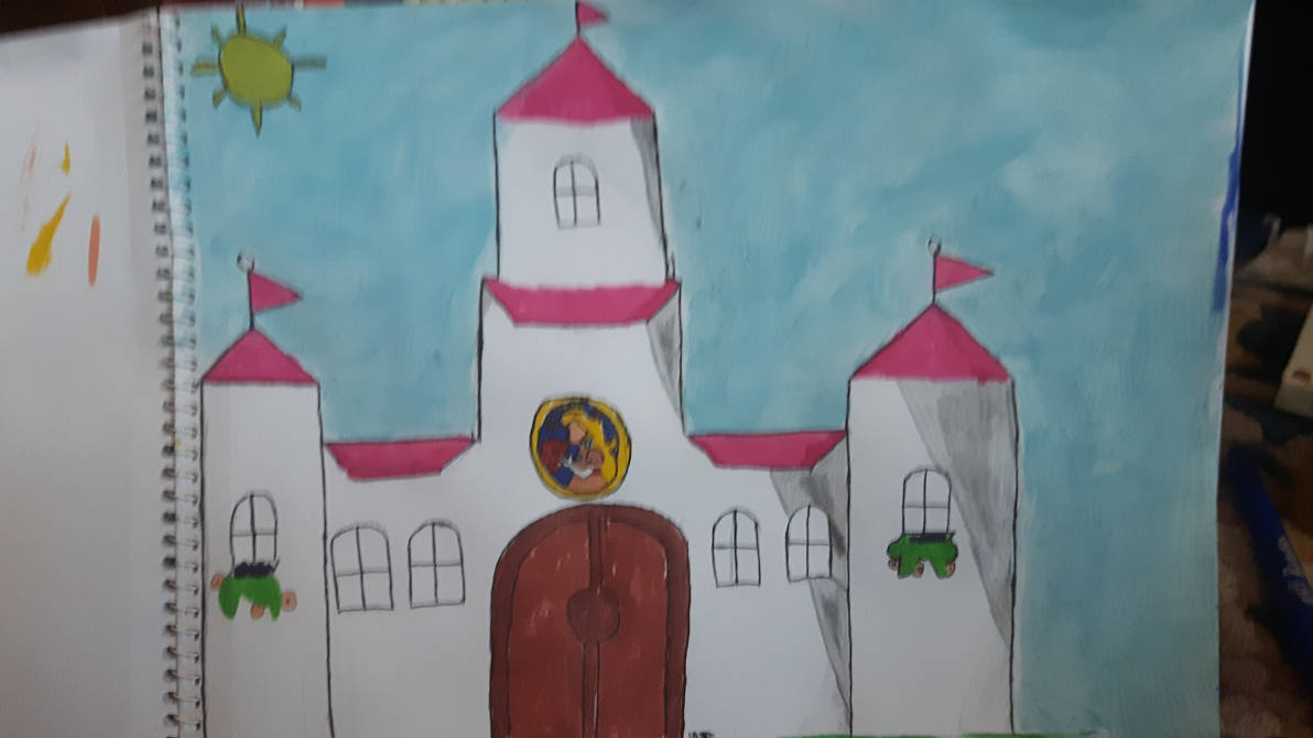 Princess Peach S Castle By Bubblewand156 On Deviantart