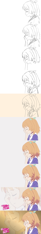 Chiwa Harusaki Oreshura - Drawing Steps by MoDmew8 on ...
