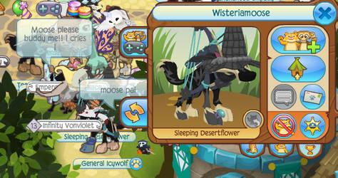 Wisteriamoose! :D by ThunderStars199