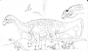 Pitekunsaurus WIP by maniraptora
